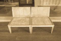 Old wooden chair Royalty Free Stock Photography