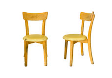 Old wooden chairs Royalty Free Stock Photos