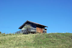 Old wooden chalet Stock Image