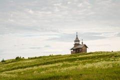 Old wooden chapel, Kizhi Stock Photo
