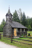 Old wooden chapel Stock Image