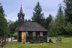 Old wooden chapel Royalty Free Stock Photography