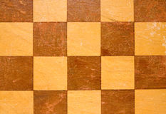 old  wooden checkers board Royalty Free Stock Photo