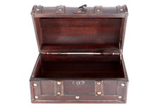 Free Old Wooden Chest Royalty Free Stock Photos - 17414768
