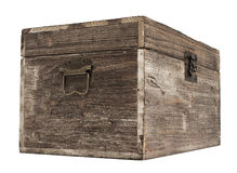 Free Old Wooden Chest Royalty Free Stock Images - 37896029