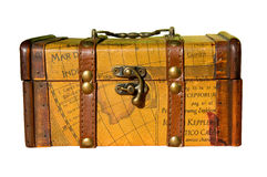 Old Wooden Chest Stock Images