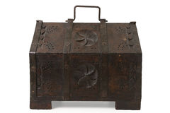 Old Wooden Chest Royalty Free Stock Photos