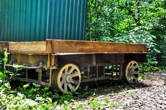 Old Wooden Chuck Wagon Stock Photography