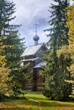 Old wooden church Royalty Free Stock Photos