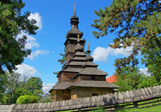 Old wooden church Royalty Free Stock Image