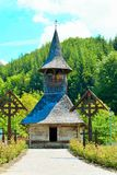 Old wooden church Stock Photo