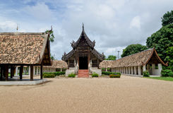 Old wooden church of Chiangmai Thailand Stock Images