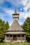 Old wooden church. The Wooden Churches of Maramureș in the Maramureș region of northern Transylvania are a group of almost one hundred Orthodox churches, and Royalty Free Stock Photos