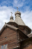 Old wooden church Stock Images