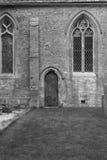 Old wooden church door Royalty Free Stock Photos