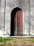 Old wooden Church Door Stock Image
