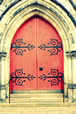 Old wooden Church Door Royalty Free Stock Photography