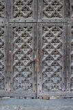 Old Wooden Church Door Stock Images
