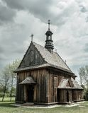 Old wooden church Royalty Free Stock Images