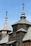 Old Wooden Church In Suzdal Stock Photo