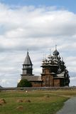 Old wooden church on Kizhi island Royalty Free Stock Photography