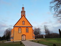 Old wooden church, Lithuania Stock Photography