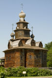 Old wooden church in Suzdal Stock Images