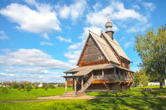 Old wooden church in Suzdal, Russia Royalty Free Stock Image