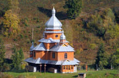 Old wooden church in Ukraine Royalty Free Stock Photography