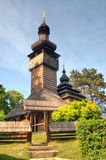Old wooden church, Uzhgorod, Ukraine Stock Image