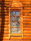 Old wooden church window Royalty Free Stock Photo