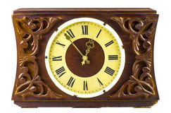 Old wooden clock Stock Photos