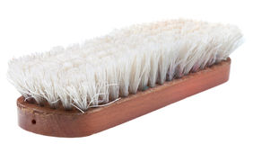 Old wooden clothes brush Stock Photography