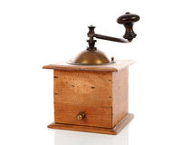 Old wooden coffee grinder Royalty Free Stock Photography