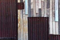Old wooden colored wall texture Stock Photo