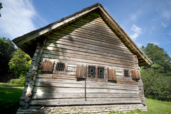 Old Wooden Cottage Stock Image