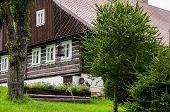 Old wooden cottage Royalty Free Stock Photography