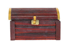 Old wooden crate Royalty Free Stock Photos