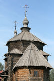 Old wooden curch in Suzdal Stock Photos