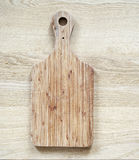 Old wooden cutting board Royalty Free Stock Photos
