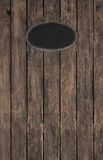 Old wooden dark brown patterned background with a black ancient Royalty Free Stock Photos