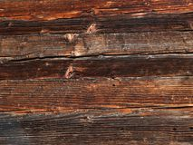 Old wooden dark plank texture as a background stock photography