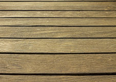 Old wooden deck. Royalty Free Stock Images