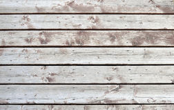 Old wooden deck Stock Images