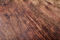 Old Wooden Desk royalty free stock photos