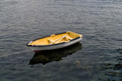 Old wooden dinghy Royalty Free Stock Photo