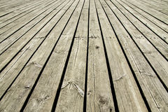 Old wooden dock background. Texture Royalty Free Stock Photos