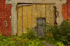 Free Old Wooden Door. Royalty Free Stock Photography - 101615647