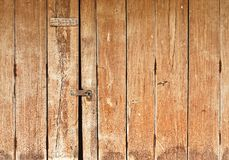 Old wooden door Royalty Free Stock Image