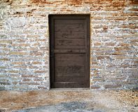 Free Old Wooden Door Royalty Free Stock Photography - 25224887